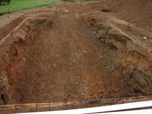 053 Rock Excavation for Pool